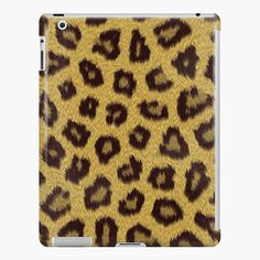 """Leopard"" iPad Case & Skin by bubbliciousart 