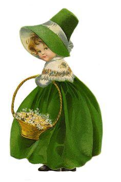 1 1/2 Fabric Button Green Lucky Irish by CatFabricsandButtons, $4.95