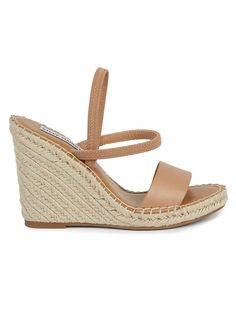 Gold High Heel Sandals, Wedge Sandals, High Heels, Steve Madden Wedges, Shoulder Strap Bag, Espadrilles, Classy Heels, Shoes, Open Toe