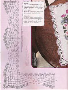 ○●○ crochet - bicos/barrados com cantos - corners 1 - Raissa Tavares - Picasa Web Albümleri