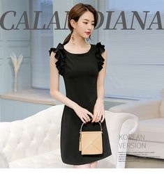ab9053708 Caidaifei 2018 Spring And Summer New Style Korean Style Large Size Slimming  Fashion Leisure Versatile Solid