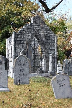 find this pin and more on halloween ideas by jensparksart - Cemetery Halloween Decorations