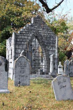 davis graveyard crypt inspiration