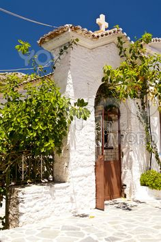 Monastery on the Greek island of Samos Greece Beautiful Islands, Beautiful Places, Ariana Grande, Samos Greece, Skiathos Island, Thasos, Greece Vacation, Greek Islands, Dream Vacations