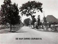 De wijk Darmo (Surabaya van toen (foto's Nico)) | Stichting Adinda