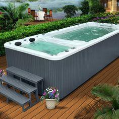 SRP 660 6 Meter Swim SPA Jacuzzi Pool SPA For Villa Pool 6 People Computer