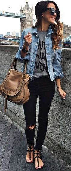 Must have 100 Badass Leather Clothes For Women | Fashion https://dressfitme.com/badass-leather-clothes-women/