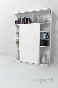 Murphy Bed Modern Murphy Beds Murphy Bed Plans Murphy Bed Revolving Bookcase Italian Wall Be. Expand Furniture, Furniture Ads, White Furniture, Furniture Websites, Furniture Removal, Furniture Online, Furniture Design, Revolving Bookcase, Bookcase Wall
