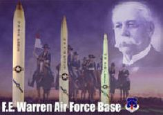 Francis E. Warren AFB near Cheyenne Wyoming is one of four strategic missile bases in the United States. Description from…