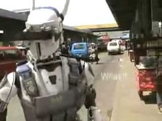DARPA's Police Robots - Really cool