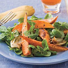Roasted Sweet Potato Salad With Citrus Vinaigrette-- Southern Living