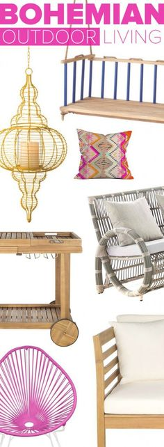 Bohemian Outdoor Décor | Up to 60% Off