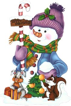 ... about Country Christmas * on Pinterest | Snowman, Navidad and Clip Art