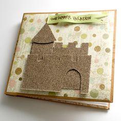sand paper for a sand castle... brilliant