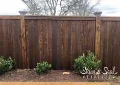 Metal Frame Fence Kits (Outlasts Wood) - FenceTrac by Perimtec Modern Wood Fence, Wood Fence Design, Wooden Fences, Wood Privacy Fence, Privacy Fence Designs, Privacy Screens, Fence Landscaping, Backyard Fences, Fenced In Backyard Ideas