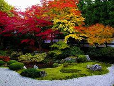秋の泉涌寺庭園 by nobuflickr, via Flickr