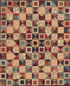 Civil War Quilts: Stars in a Time Warp 11: Purple More