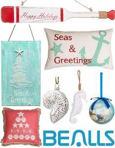 Coastal Christmas Decor and Ornaments at Bealls