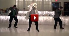 A Wedding Party Stuns Their Guests With a Surprise Dance - and It's Smooth - Funny Video