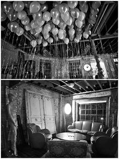 Winter Wonderland Castle Gibson Warehouse Wedding