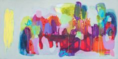 "Saatchi Art Artist Claire Desjardins; Painting, ""Shared Spaces"" #art"