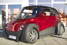 The third prototype of the QBEAK electric car now includes a basic charging structure, alo...
