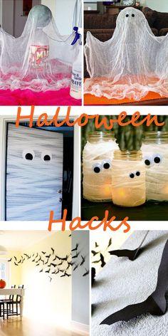 Die besten Deko Hacks für Halloween! Gruseliger Deko Spaß buh huh!!! Mehr auf http://www.gofeminin.de/wohnen/halloween-deko-fur-dein-zuhause-s1576120.html (Halloween Deko)