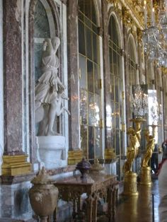 Versailles: Hall of Mirrors Versailles, Luxembourg Gardens, Hall Of Mirrors, Lawn Furniture, Chic Shop, Adaptive Reuse, Relaxing Day, Shades Of Green, 18th Century