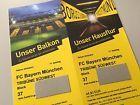 #Ticket  2 Tickets BVB  FC Bayern München Süd-West Sitzplätze Block 37 #deutschland