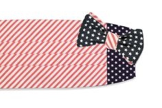 Stars & Stripes Cummerbund Set by High Cotton #$100-to-$200