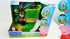 Свинка Пеппа домик на дереве
