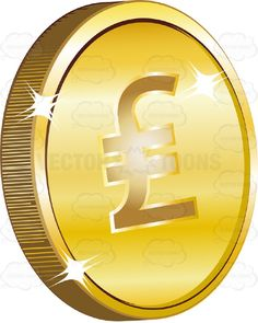 Old British Sterling Pound Sign With Two Lines Or Italian Lira Sign On Gold Coin Currency #british #coin #currency #exchange #Italy #lira #medallion #monetary #money #note #old #pay #PDF #symbol #uk #vectorgraphics #vectors #vectortoons #vectortoons.com #wealth