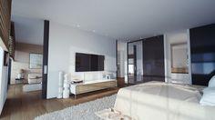 Hotel Hilton OVO Wroclaw - Architecture Visualization by Studio Aiko , via Behance