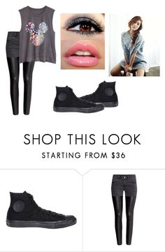 """""""May,the Mother in the Group."""" by bella-schroeder ❤ liked on Polyvore featuring Converse and H&M"""