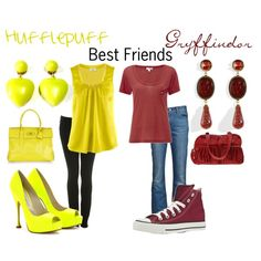 This is totally for Danielle and me! Harry Potter Style, Harry Potter Outfits, Anime Inspired Outfits, Cool Outfits, Fashion Outfits, School Clothing, Girl Clothing, Fandom Outfits, Halloween Cosplay