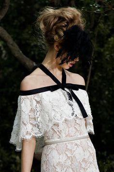 Pretty... Lace a la Chanel Spring 2012 Couture