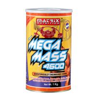 Matrix Mega Mass 4600 is used for mass gaining and to boost mass. It increases overall body weight. Matrix Mega Mass Gainer providing a calorie dense formula of proteins, carbohydrates, essential minerals and vitamins and amino acids. It also provides a large number of amino acids required to increase muscle size.