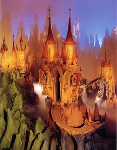 Droomvlucht - Eftepedia - alles over de Efteling Castle Mural, Minecraft Castle, Minecraft Houses, Real Life Fairies, Fairytale House, Spooky House, World Of Fantasy, Cat Noir, Monster Art