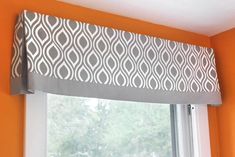 Vertical Panel Blinds Curtains and Window Treatments DIY Tutorials No Sew Valance, Valance Tutorial, No Sew Curtains, How To Make Curtains, Custom Curtains, Bedroom Curtains, Valance Curtains, Valences For Windows, Bay Windows