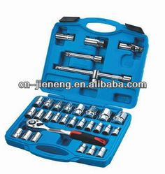 32pcs chrome vanadium mechanic tools set,hand socket set $14.4~$21.6