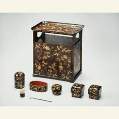 Cosmetics Set  Japan, 1819  The Asian Art Museum