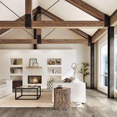 Le mélange bois et blanc à la scandinave - Inspirations - Décoration et rénovation - Pratico Pratique