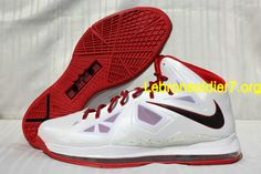Credit guarantee that all pictures in - kind shooting, please rest assured to buy Nike Lebron X White Red Promo 68$