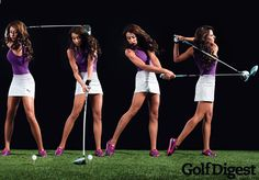 hot women and golf | Golf Channel's Holly Sonders Will Dominate Cover of Golf Digest ...