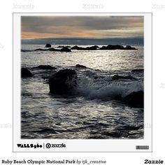 Ruby Beach Olympic National Park Wall Decal