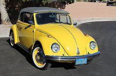 eBay: 1969 Volkswagen Beetle - Classic convertible 1969 Classic Volkswagen Convertible New top,… #classiccars #cars usdeals.rssdata.net