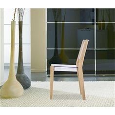 With a strongly charismatic character and outstanding aesthetic appeal, this Lhosta Natural Dining Side Chair will complement any decor. Side Chairs, Dining Chairs, Restoration Hardware Chair, Chair Types, Chair Backs, Modern Materials, Wood Colors, Modern Chairs, Online Furniture
