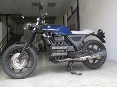 "BMW K75 ""Blue Dark Shadow"" by Adrenaline Machine"