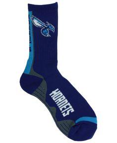 For Bare Feet Charlotte Hornets Team Vortex Crew Socks