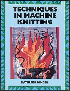 """Link to a book review of """"Techniques in Machine Knitting"""" by Kathleen Kinder. The review is in German and English, by kind permission from Kerstin of the Strickforum blog."""